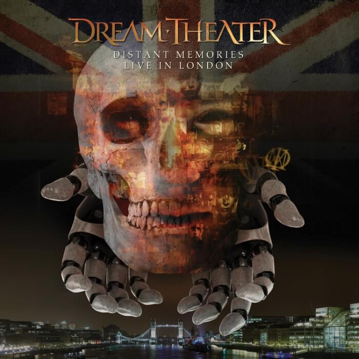 Dream Theater Distant Memories Album Cover Live in London